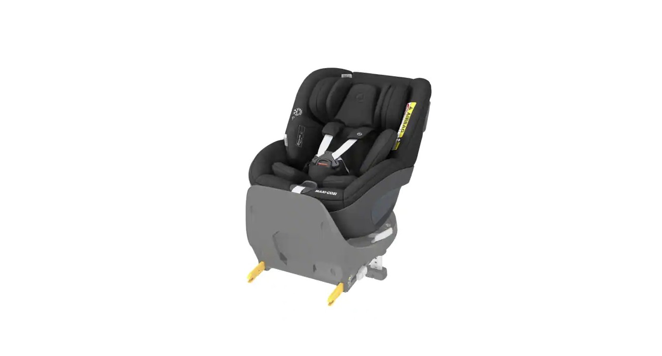 Maxi-Cosi Pearl 360 (só cadeira) Authentic Black